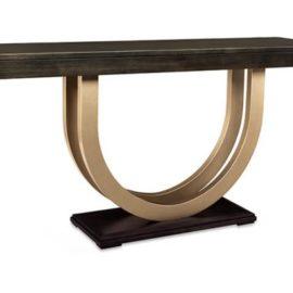 Contempo Metal Curve 72in Sofa Table
