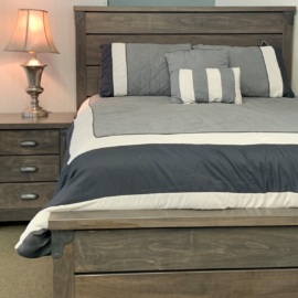 Iron Corner Bed