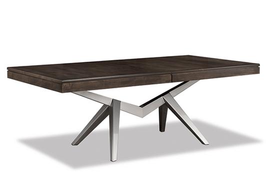 Laguna Dining Table (Silver Base)